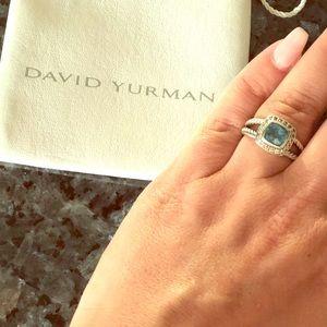 David Yurman Ring Topaz